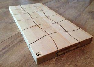 Plank notenhout